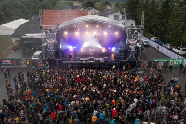 Luftbild Area 53 Festival 2021