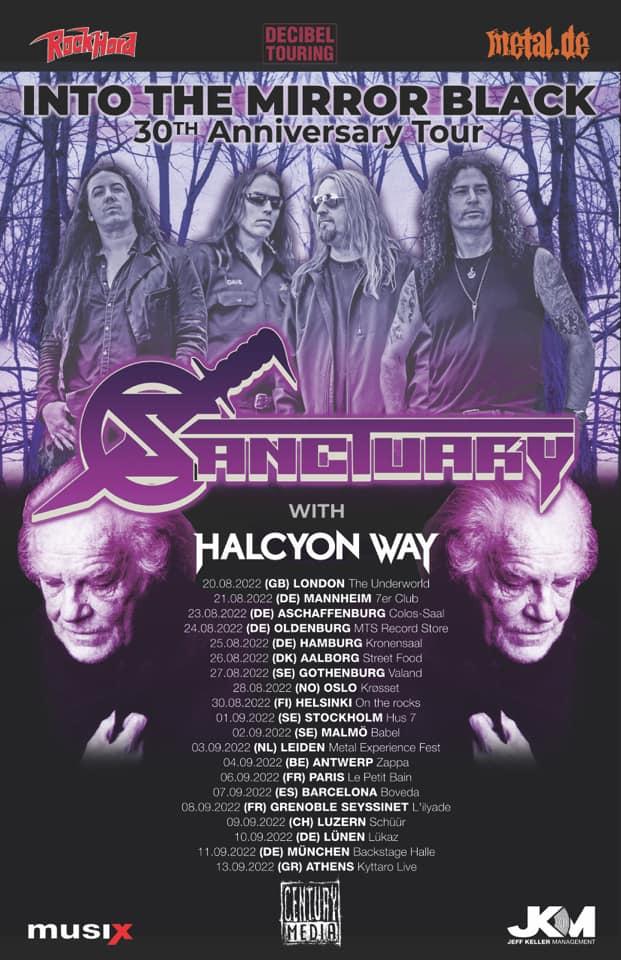 Fyler der Sanctuary – Into The Mirror Black Anniversary Tour 2022
