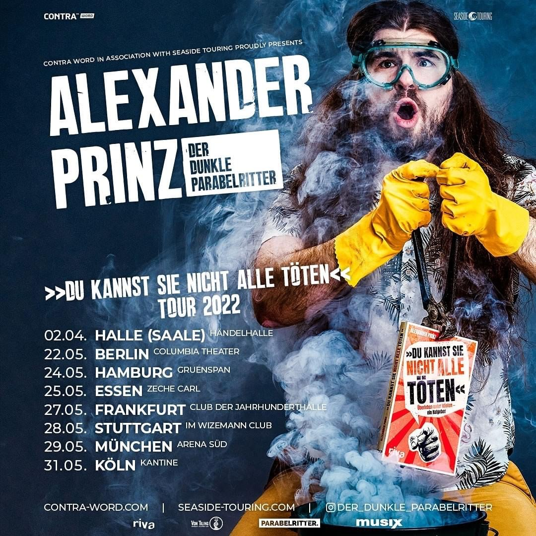 Tourplakat Der Dunkle Parabelritter