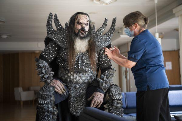 Lordi bekommt Corona-Impfung