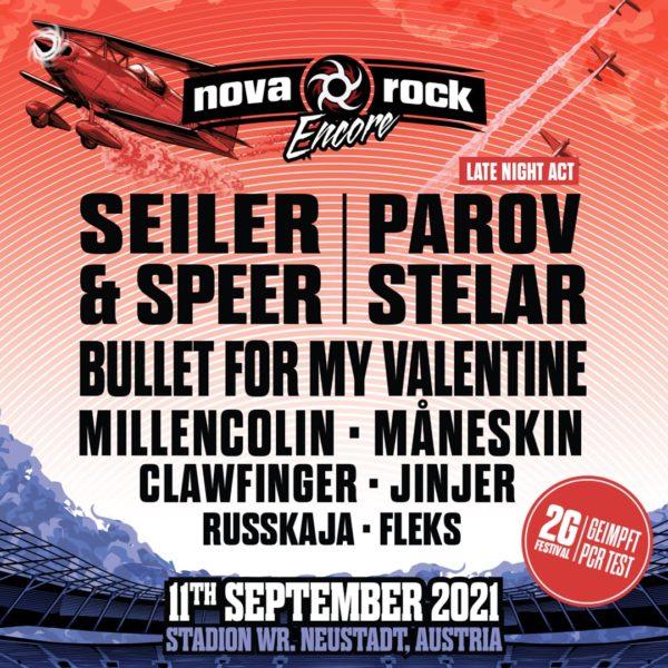 Line-Up Nova Rock Encore 2021