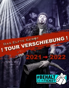 Tourplakat Feuerschwanz 2022