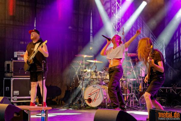 Konzertfoto von Papierflieger - Adamshof Kulturbühne 2021