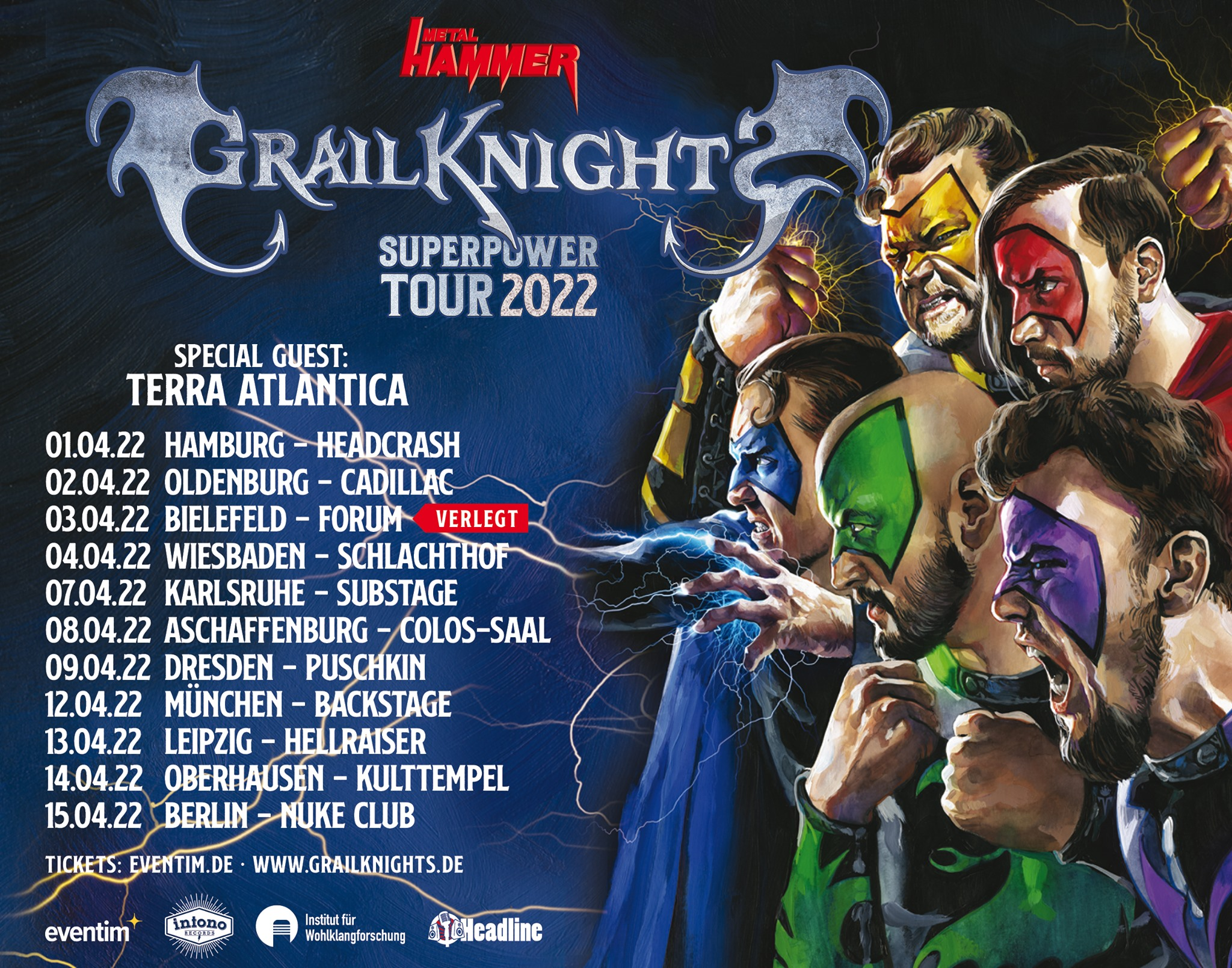 Grailknights Tourplakat 2022