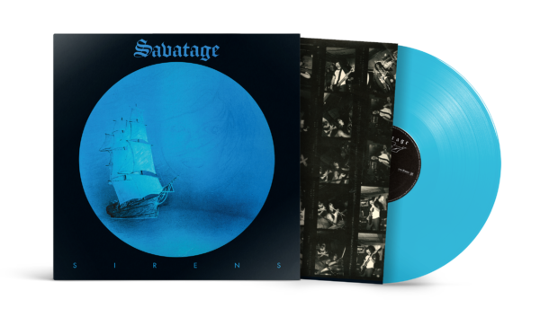 Savatage Sirens Blue Vinyl Produktfoto