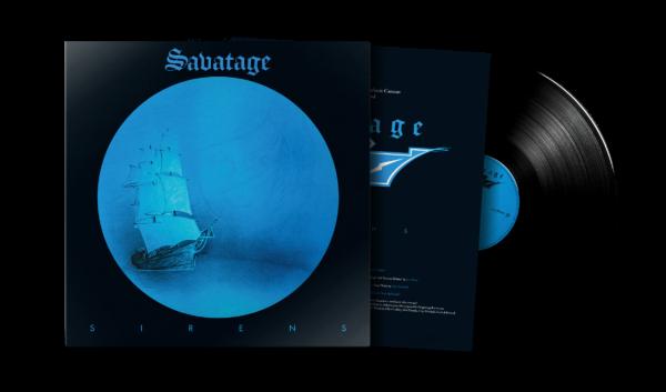 Savatage Sirens Black Vinyl Produktfoto