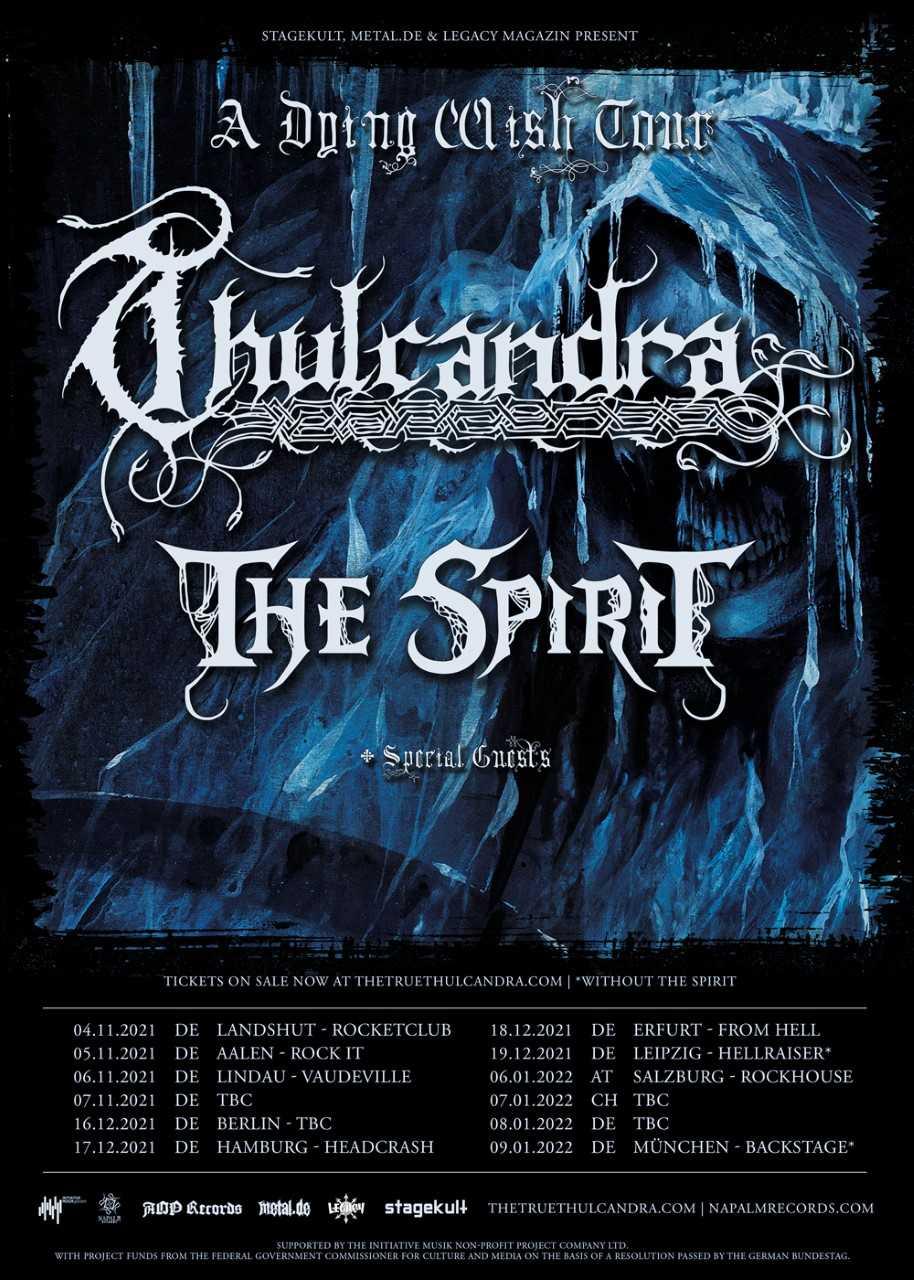 Thulcandra A Dying Wish Tour
