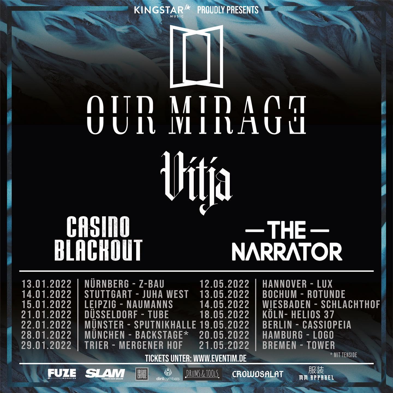 Our Mirage Tour 2022