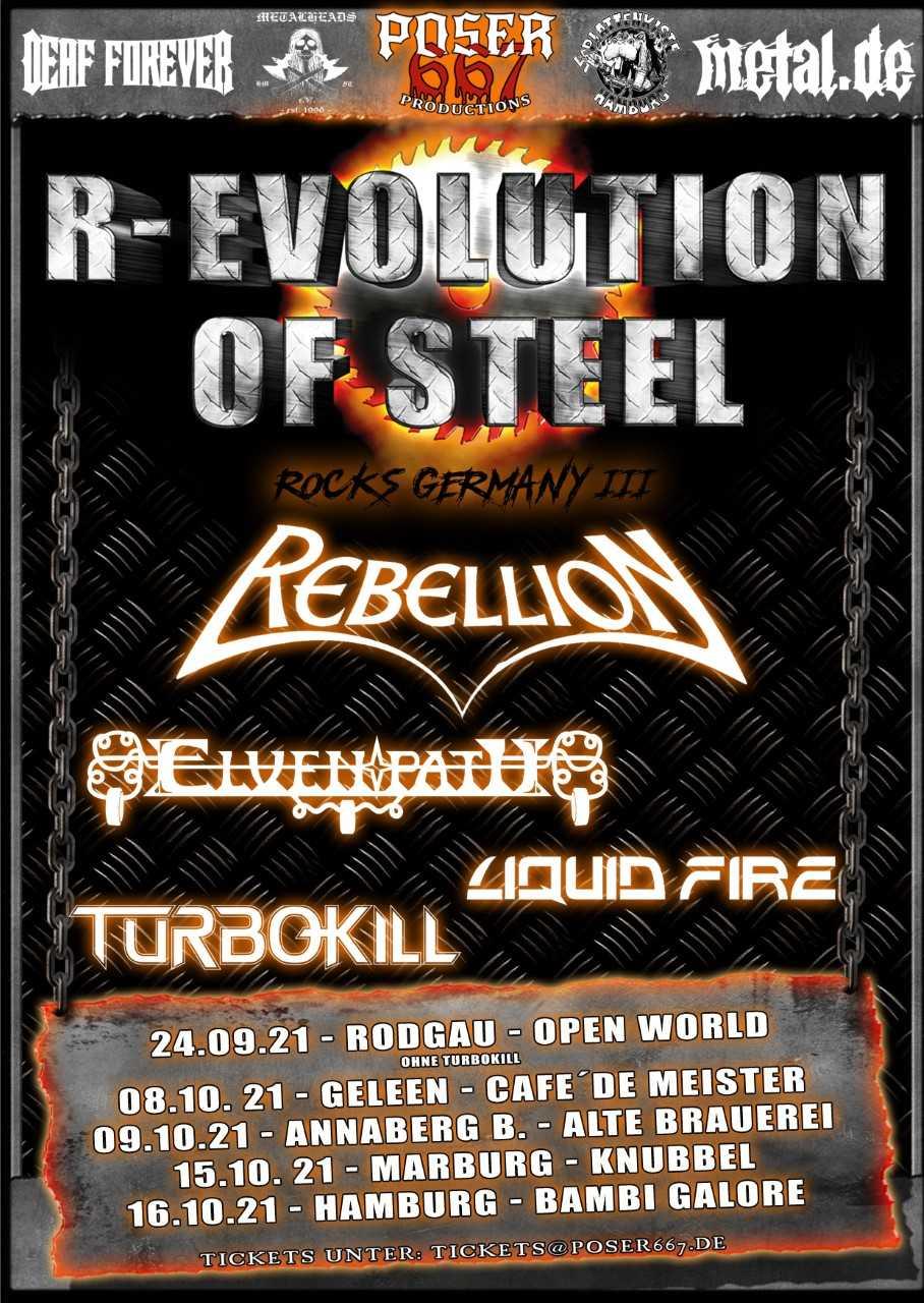 Rebellion R-Evolution Of Steel Tour