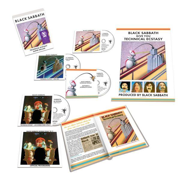 """Cover Artwork von Black Sabbath """"Technical Ecstasy (Super Deluxe Edition)"""" ausgepackt"""