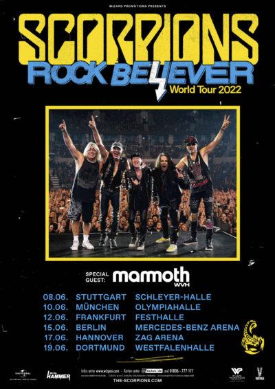 Tour Plakat Scorpions