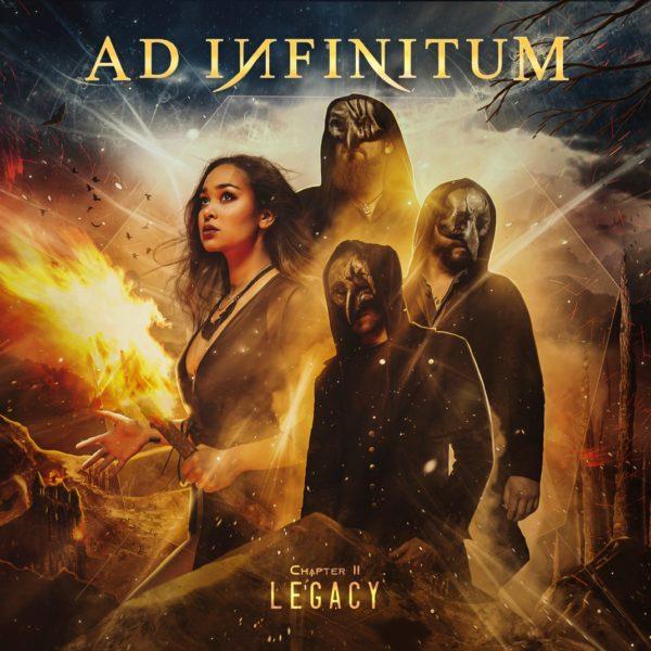"""Cover-Artwork zum Album """"Chapter II - Legacy"""" von Ad Infinitum"""