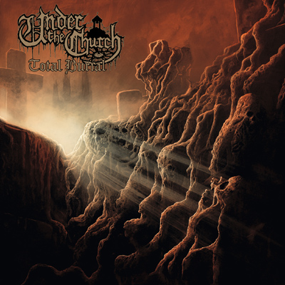 Under The Church - Total Burial Cover