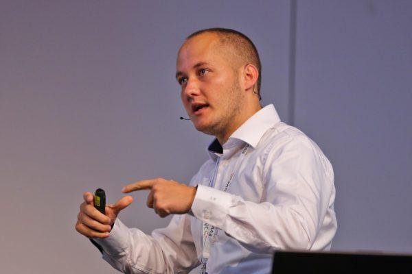 Eventpsychologe Steffen Ronft bei einer Veranstaltung